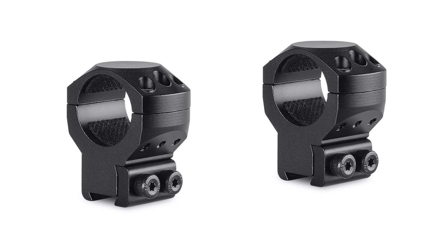 Tactical Ring Mounts 1'' 2 Piece  9-11mm High