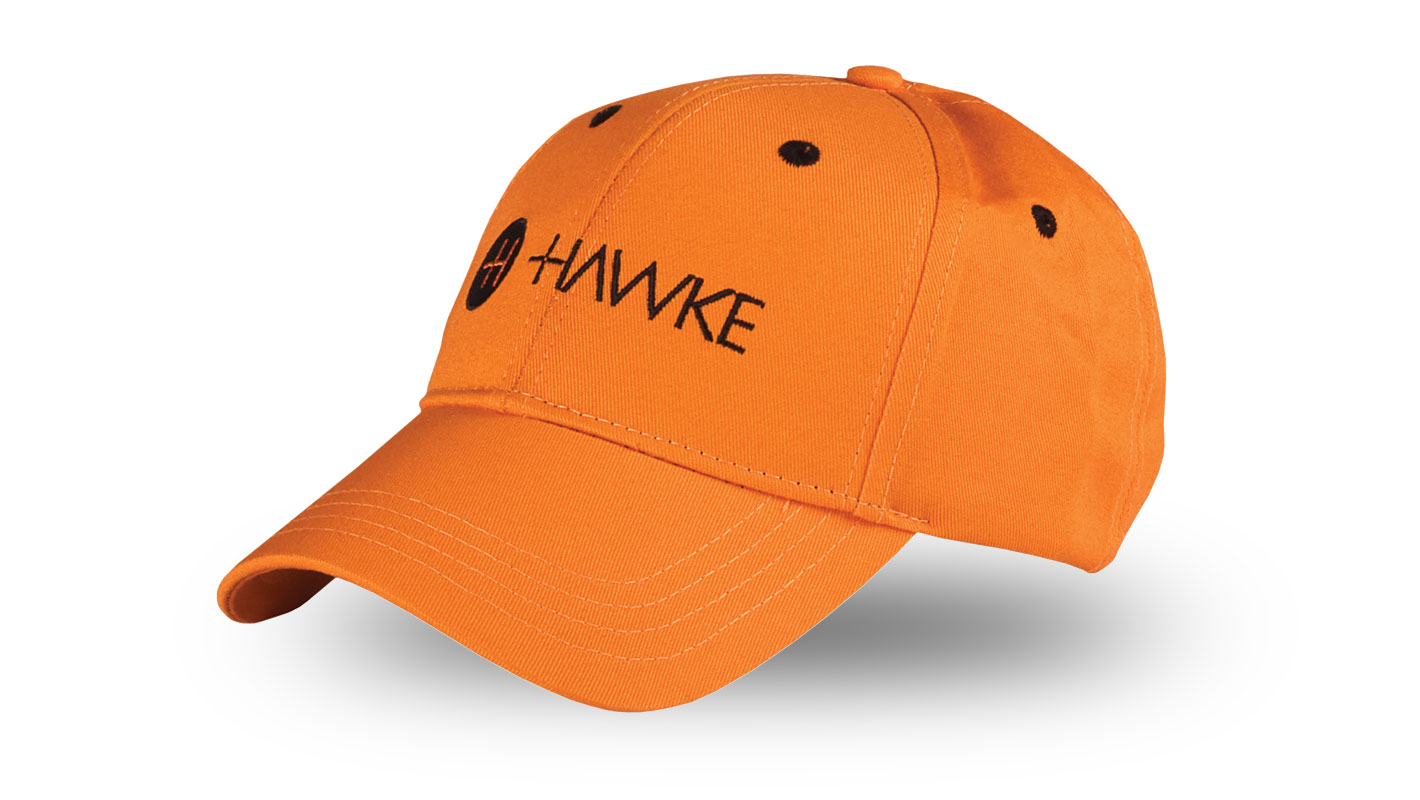 Orange Cotton Twill Cap